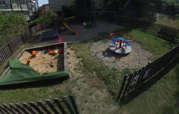 Dětské hřiště K Zeleným domkům