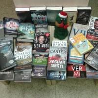 Vánoční nové knihy už jsou v knihovně.