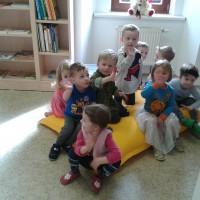 Milí noví čtenáři nám dorůstají v Rodinném centru U Motýlků.