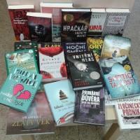 Další nově koupené knihy jsou již v knihovně.