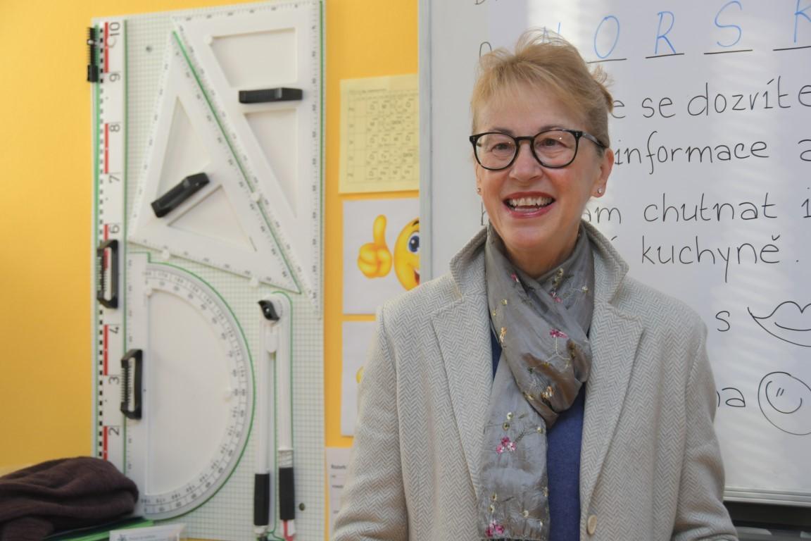 Norská velvyslankyně Siri Ellen Sletnerová navštívila naši ZŠ