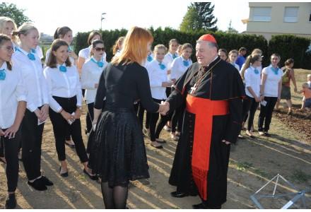 Slavnostní požehnání sousoší kalvárie 15.září 2016 v 16 hodin