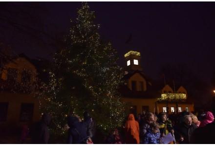 Slavnostní rozsvícení vánočního stromu před radnicí v neděli 2.12.2018 od 15:30 hodin.