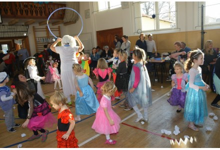 Dětský karneval - sokolovna