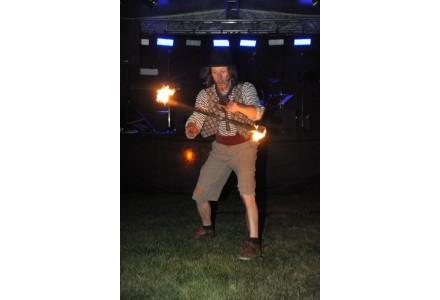 ohnivý kejklíř