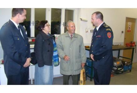 Se starostou hasičů