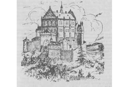 romantická představa o podobě hradu.
