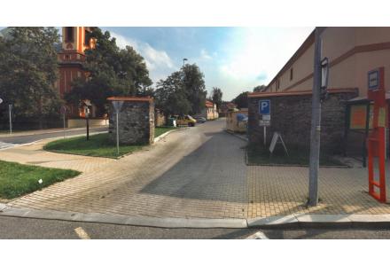 Parkoviště u služebny MPP