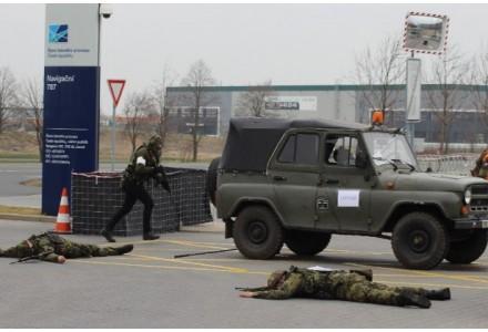 V rozvodné stanici ČEPS Chodov bude cvičit armáda a bude se střílet cvičnou municí