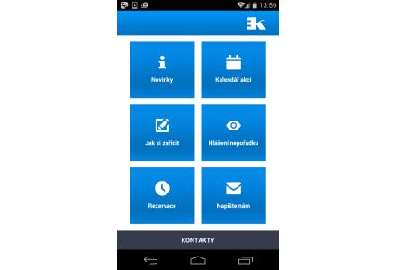 Mobilní aplikace - Moje Kunratice